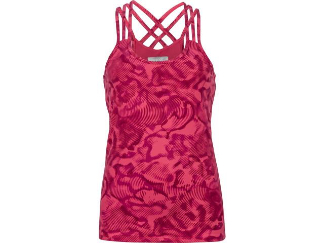 Marmot Vogue Camisa sin mangas Mujer, hibiscus ripple